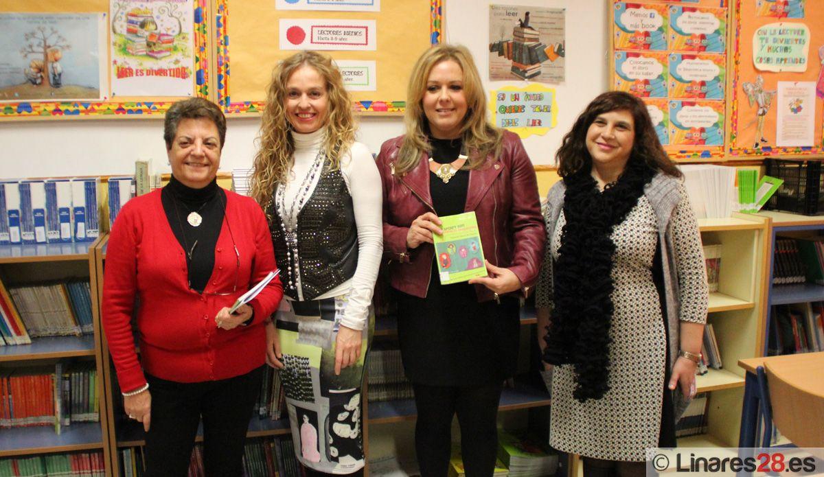 El CEIP Tetuán pone el nombre de Yolanda Sáenz de Tejada a su biblioteca
