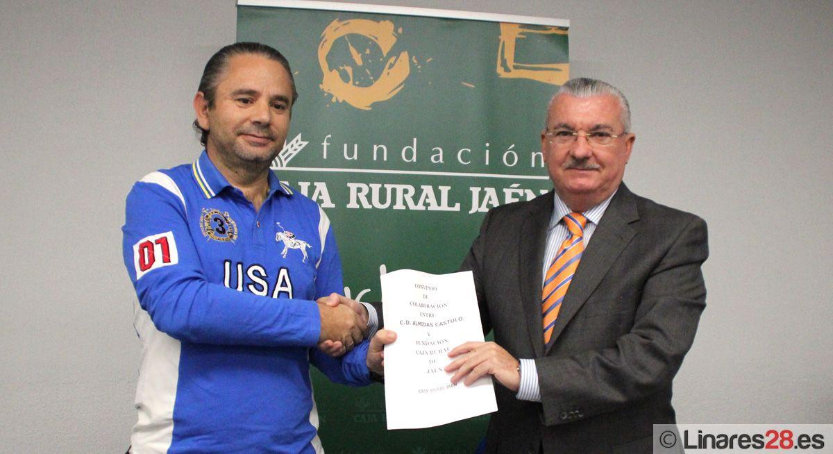 Impulso de la Fundación Caja Rural al C.D. Almidas Cástulo