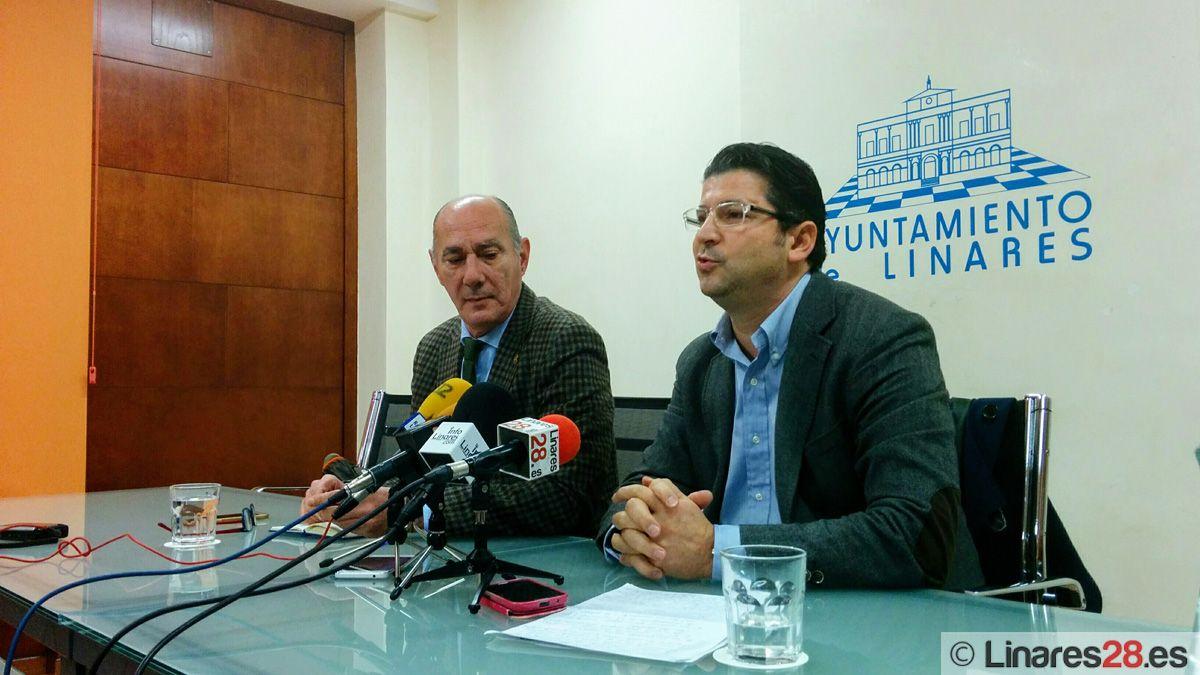Delgado y Tortosa dan su versión sobre el conflicto interno del PP de Linares