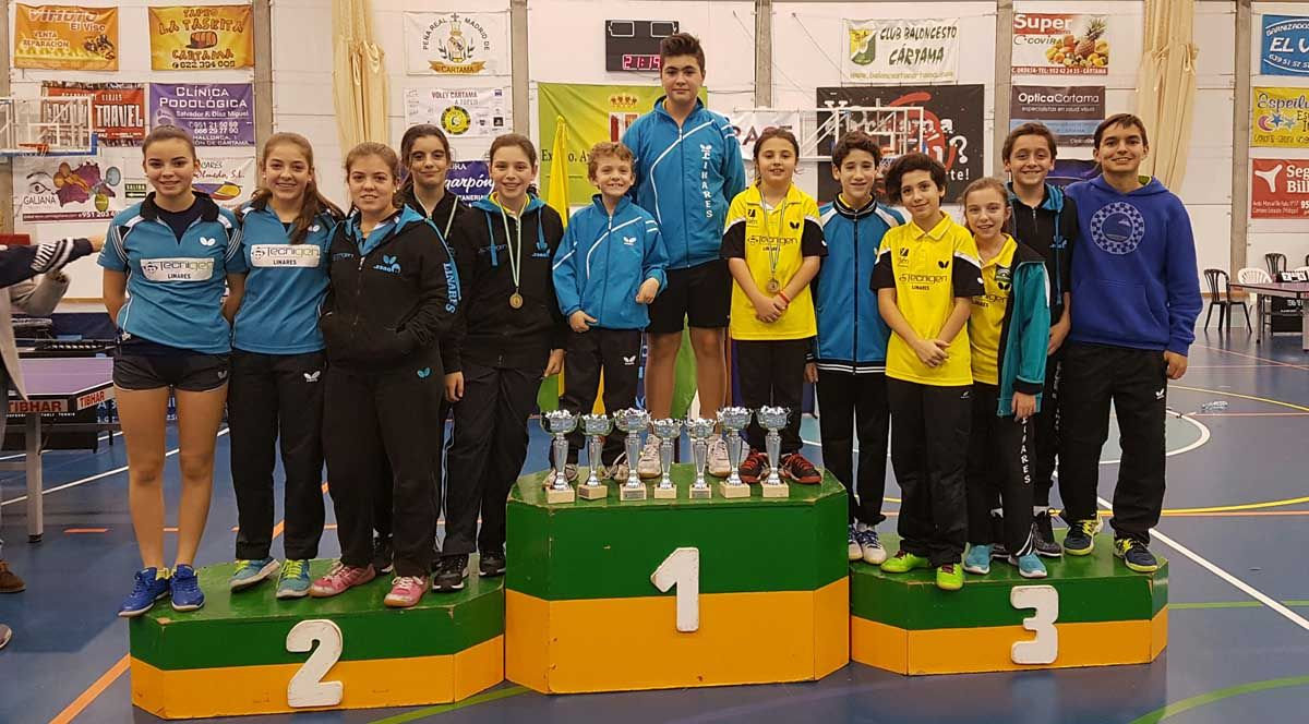Impresionante actuación del Tecnigen Linares en el Campeonato de Andalucía
