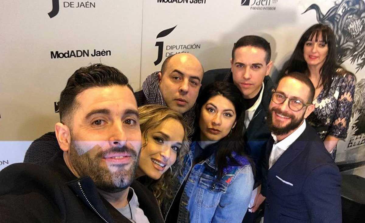 Diseñadores linarenses dentro de la iniciativa ModADN Jaén