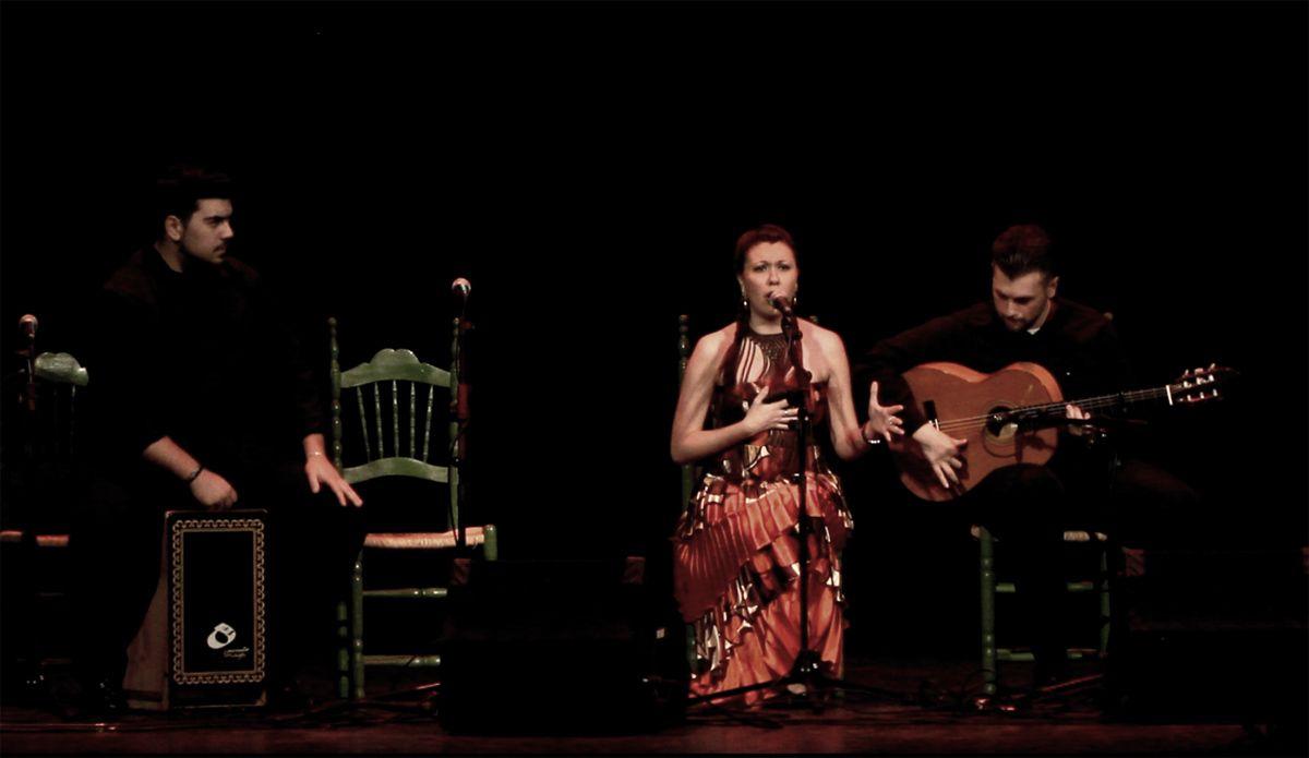 El mundo del flamenco linarense rinde homenaje a Fran Carles