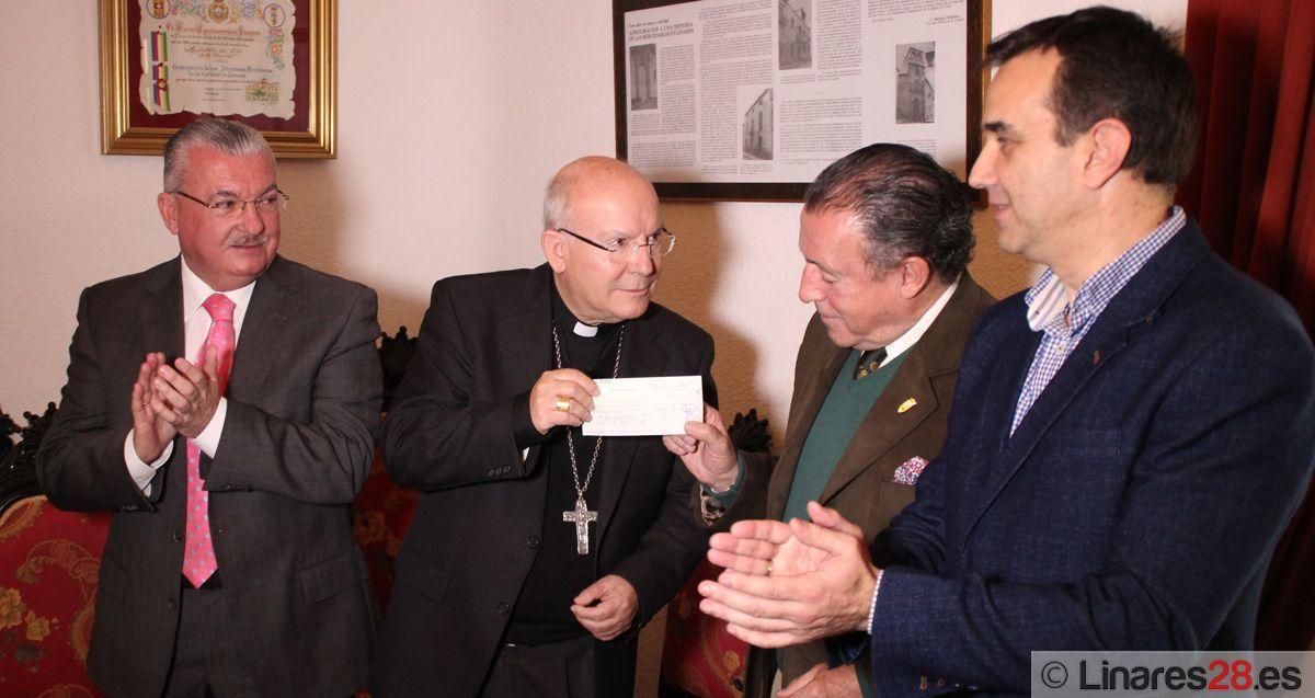 7.560 euros para el Asilo Nuestra Señora de las Mercedes
