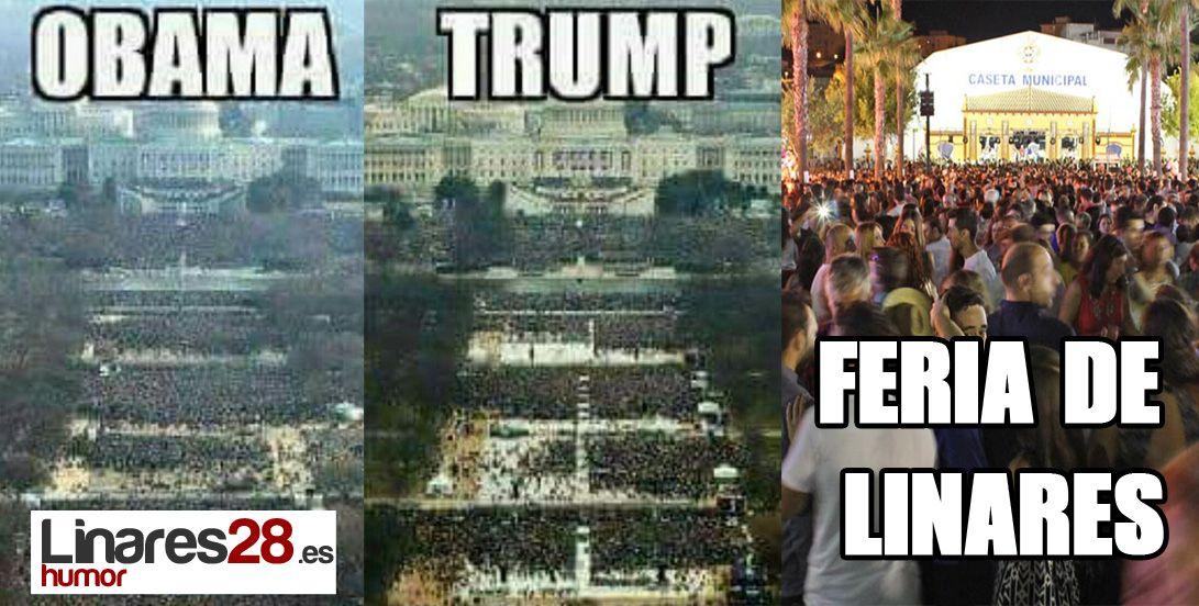 Obama, Trump… y la Feria de Linares