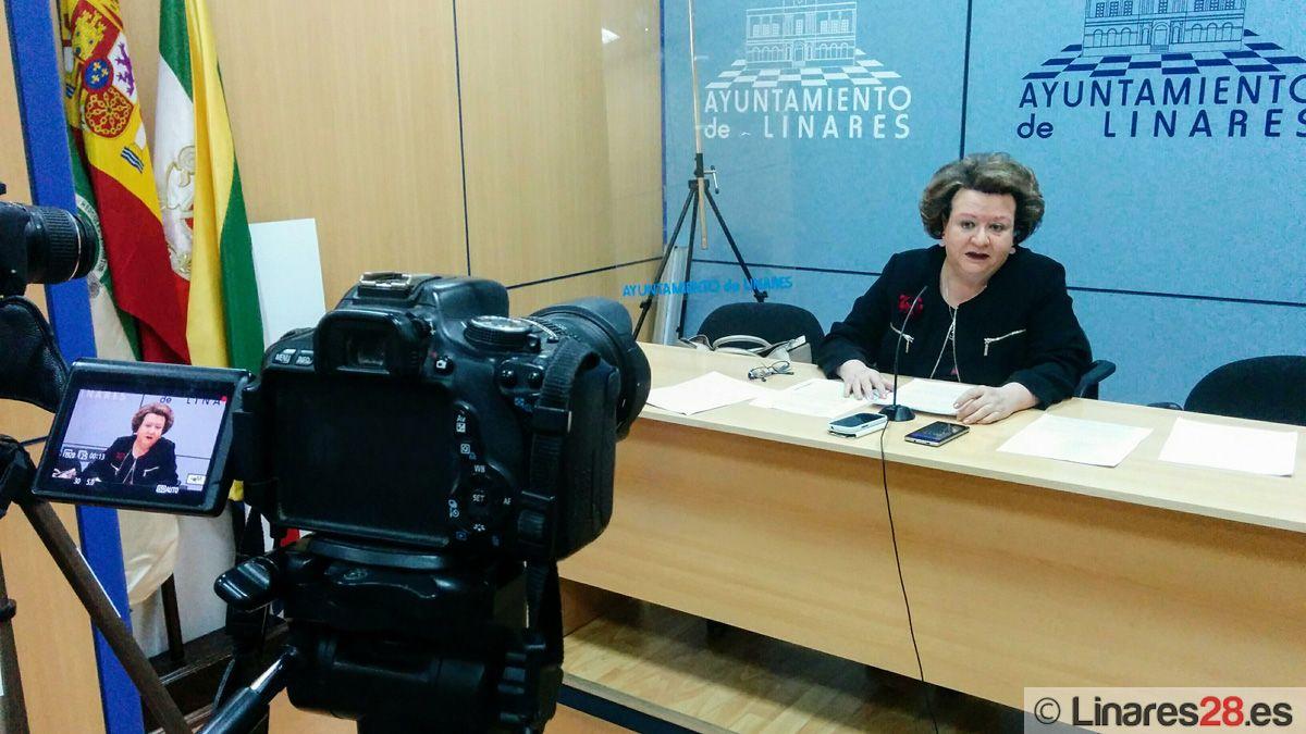 Pilar Parra pasará a ser la portavoz del Grupo Municipal del PSOE de Linares