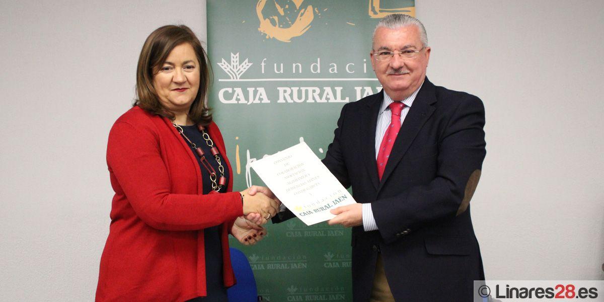 La Fundación Caja Rural de Jaén firma un convenio de colaboración con la Asociación de Alzheimer