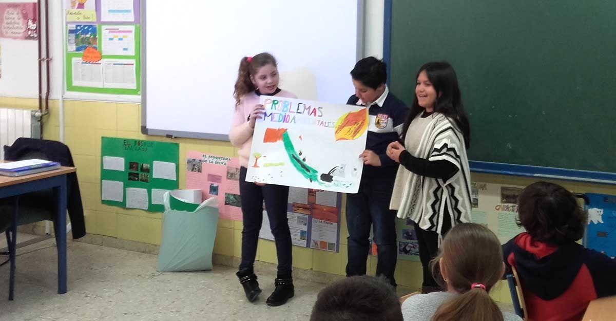 """El proyecto """"Educar en Verde"""" finaliza sus actividades de educación ambiental"""