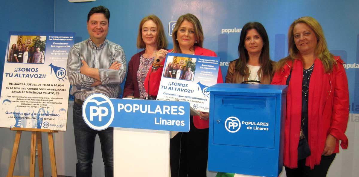 El Grupo Municipal Popular presenta la campaña 'Somos tu altavoz' para informar y atender las demandas de la ciudadanía