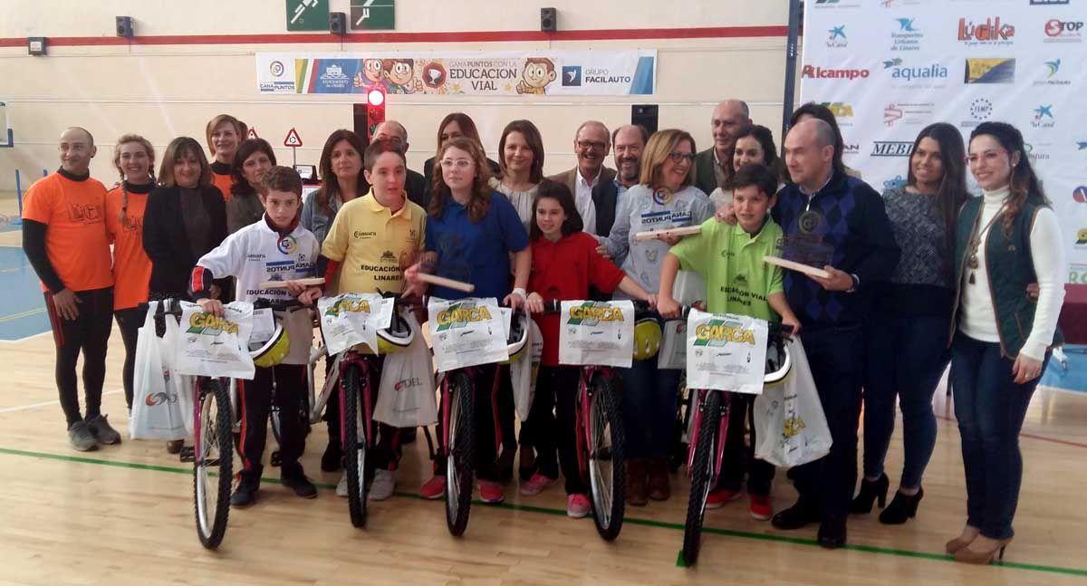 El equipo del CEIP Sagrado Corazón gana el V Concurso de Educación Vial de Linares