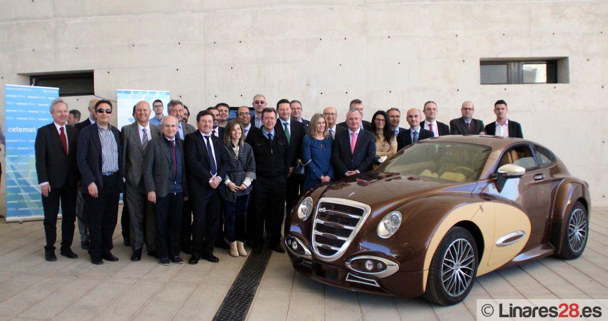 CETEMET acoge en Linares la reunión del Comité AEC Automoción con la asistencia de grandes compañías del sector del Transporte
