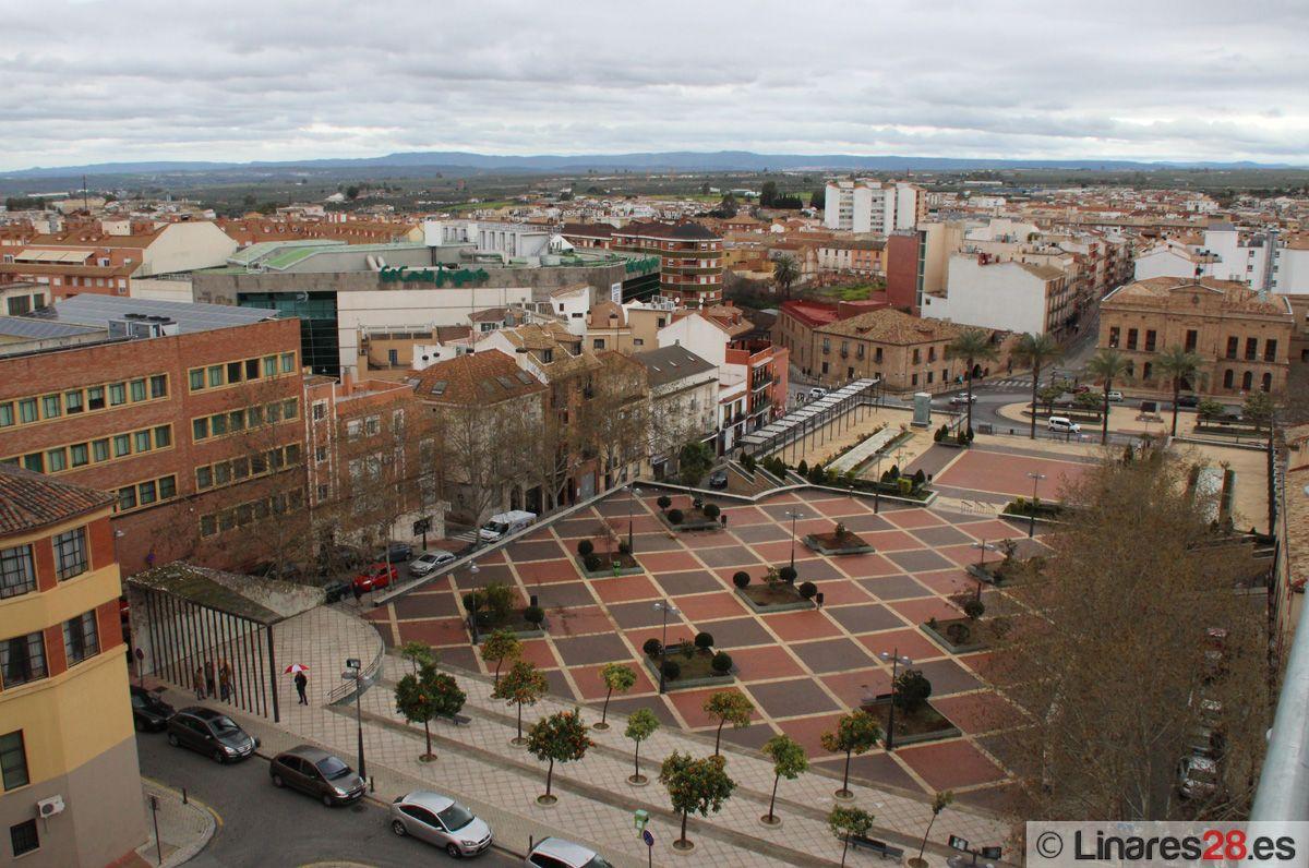 Plaza del Ayuntamiento de Linares