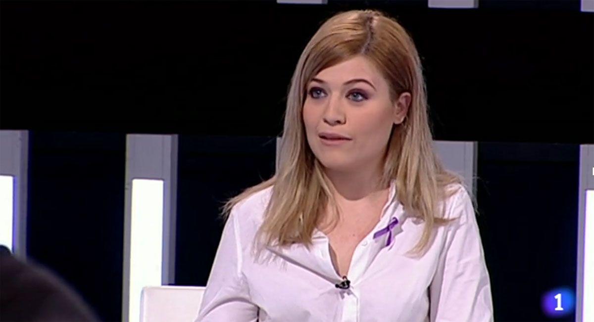 """La linarense Laura Berja en """"El debate de La 1"""""""
