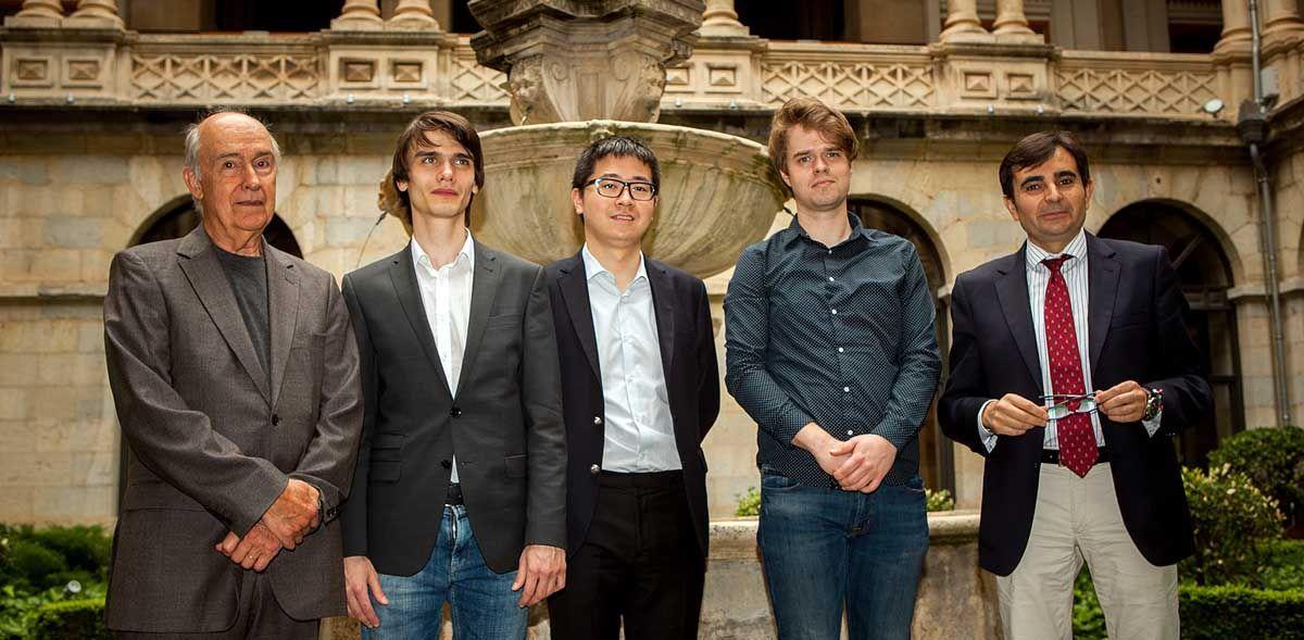 Los finalistas del 59º Premio 'Jaén' de Piano coinciden en la importancia de ganar este concurso para sus carreras