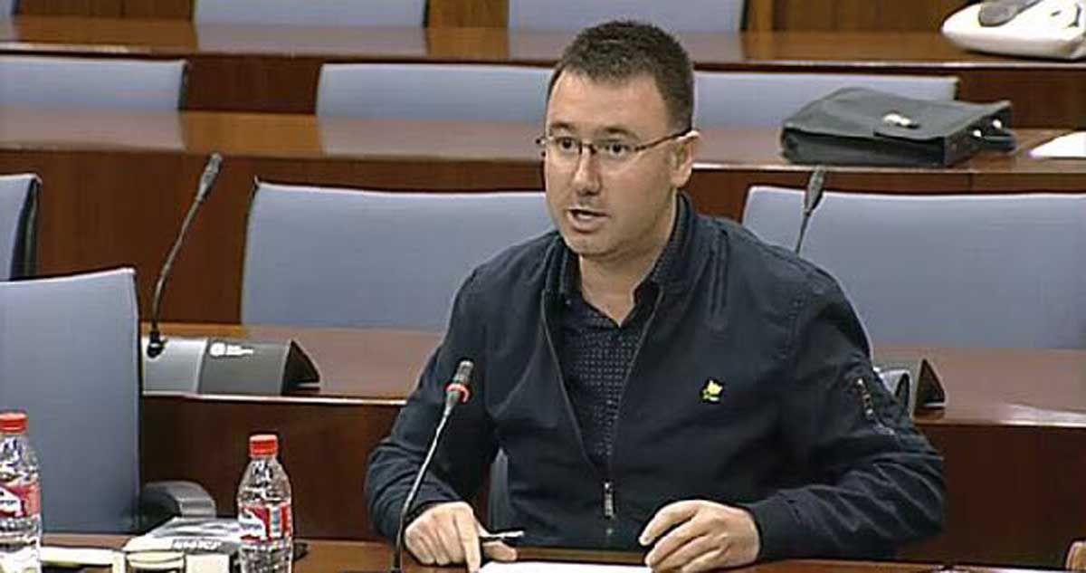 Daniel Campos muestra su satisfacción por la aprobación de una PNL sobre el Centro de Formación de Linares