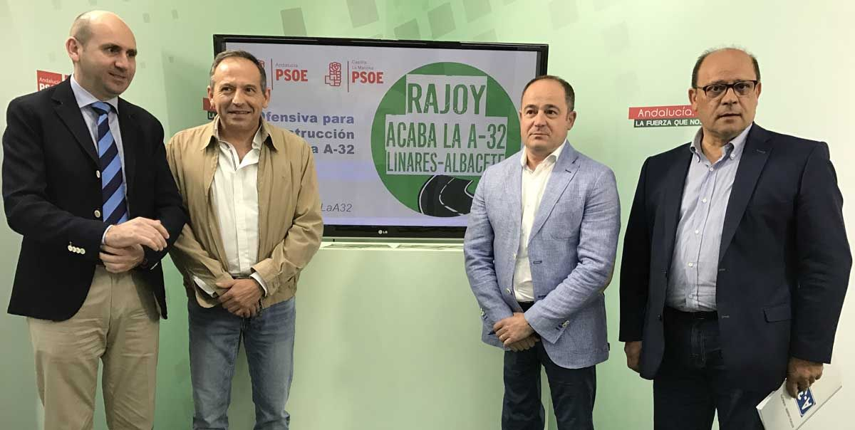 Recogida de firmas y batería de iniciativas institucionalespara exigir la reactivación de las obras de la Linares-Albacete