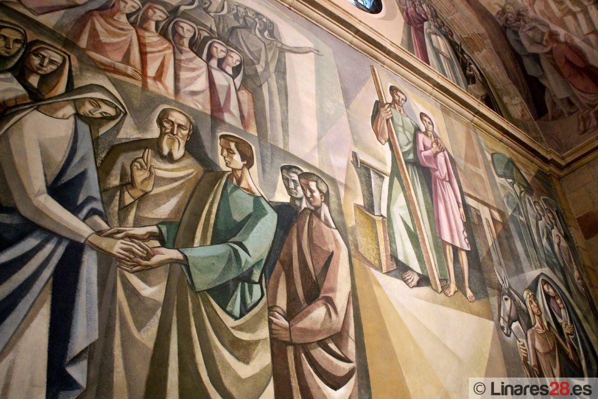 Detalle del Santuario de la Virgen de Linarejos