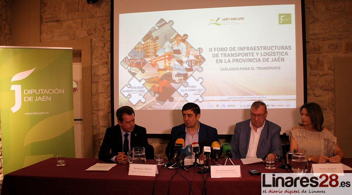 El futuro del transporte y la logística de la provincia a debate en Linares