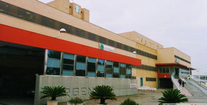 Hospital de Linares, acceso de Urgencias