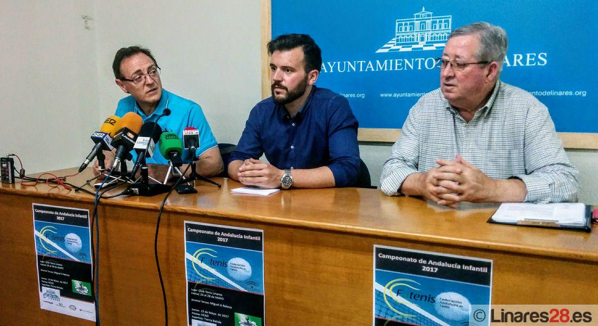 Linares será la capital andaluza del tenis infantil el próximo fin de semana