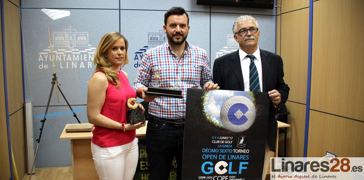 """112 jugadores en el """"Open de golf de Linares"""""""