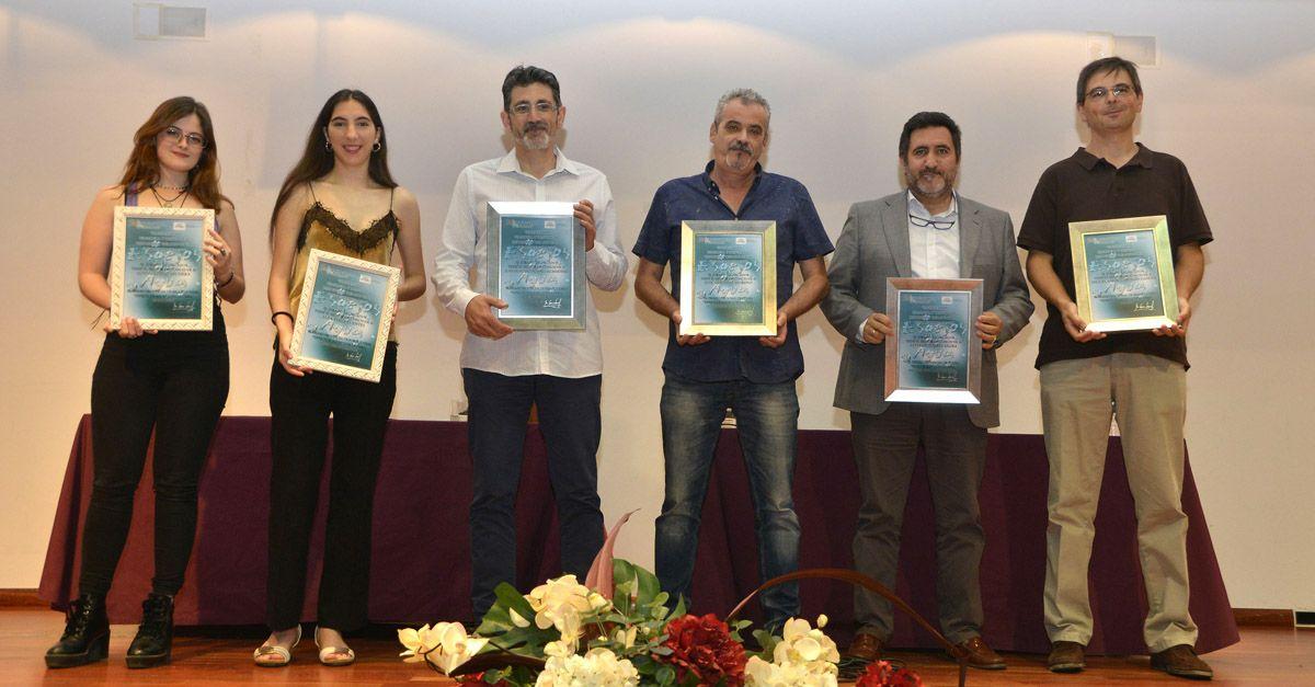 """Entrega de premios """"Espejos de agua"""" de la Asociación Manantial."""