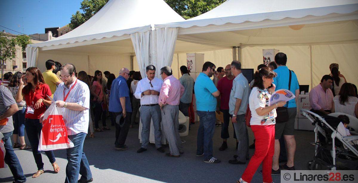 Feria de Empleo y Emprendimiento para el miércoles en el Paseo de Linarejos