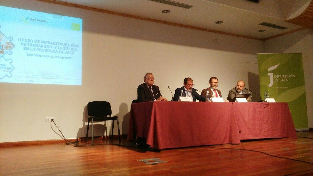 Clausura del II Foro de Infraestructuras de Transporte y Logística en la Provincia de Jaén