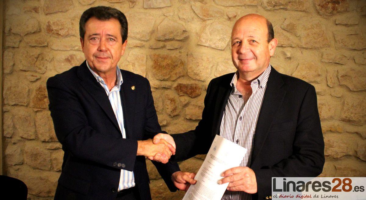 Convenio ente Ayuntamiento de Linares y COAJ para agilizar las licencias de obra