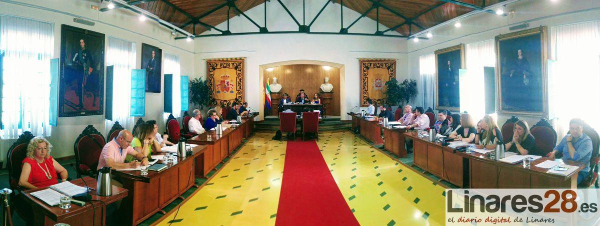 Pleno Ordinario del Ayuntamiento de Linares