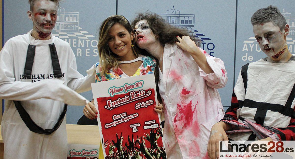 """La """"Experiencia Zombie"""" vuelve a Linares"""