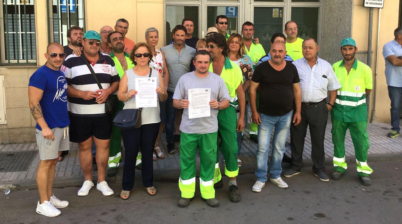 """Ciudadanos pide al PSOE no hacer """"oídos sordos"""" ante la bajada salarial que afecta a los trabajadores de URBASER"""