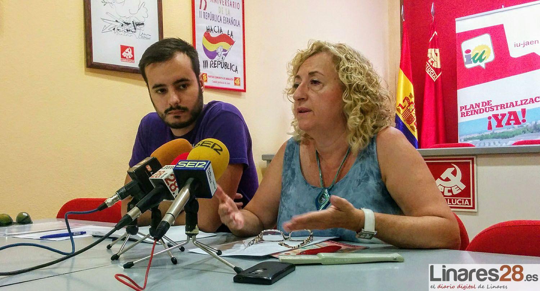 """IU: """"Linares necesita una nueva ilusión colectiva y organizar un fuerte movimiento reivindicativo en clave de progreso social"""""""