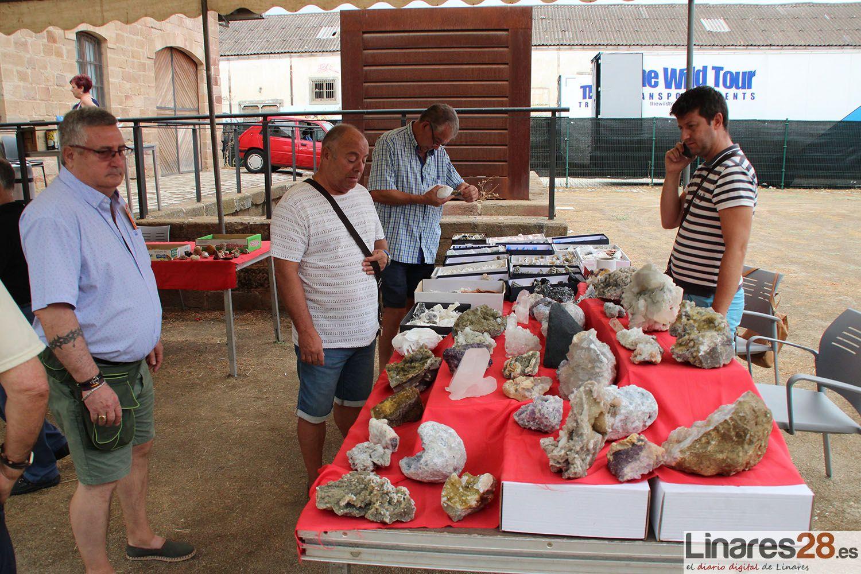 Los minerales de Linares de los más buscados por los coleccionistas