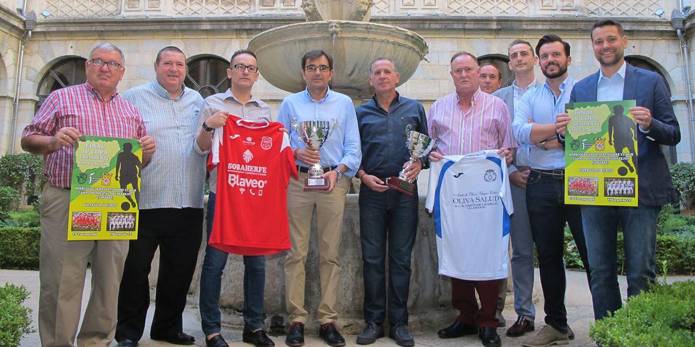 Linares acogerá este miércoles la final de la IV Copa Presidente de Diputación