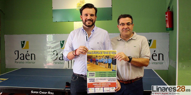 """Vuelve la """"Champions League"""" del Tenis de Mesa a Linares"""