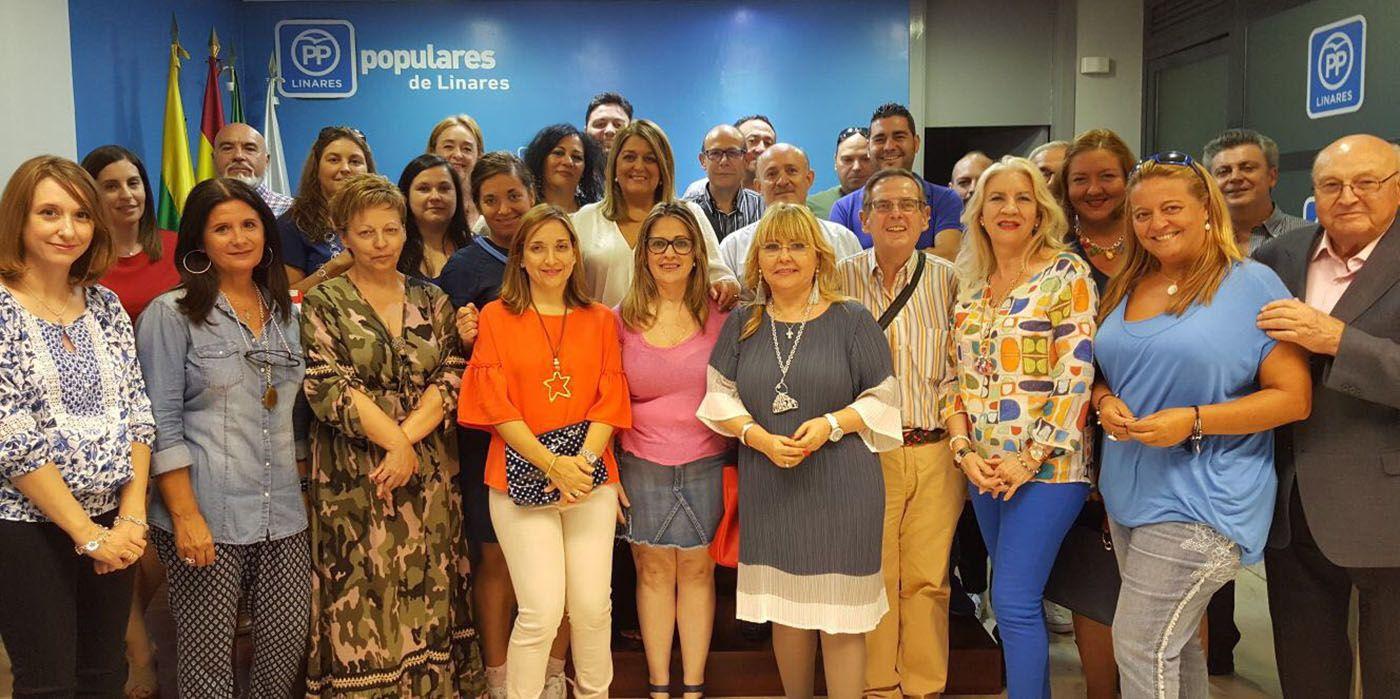 La Junta Directiva Local del Partido Popular de Linares se renueva