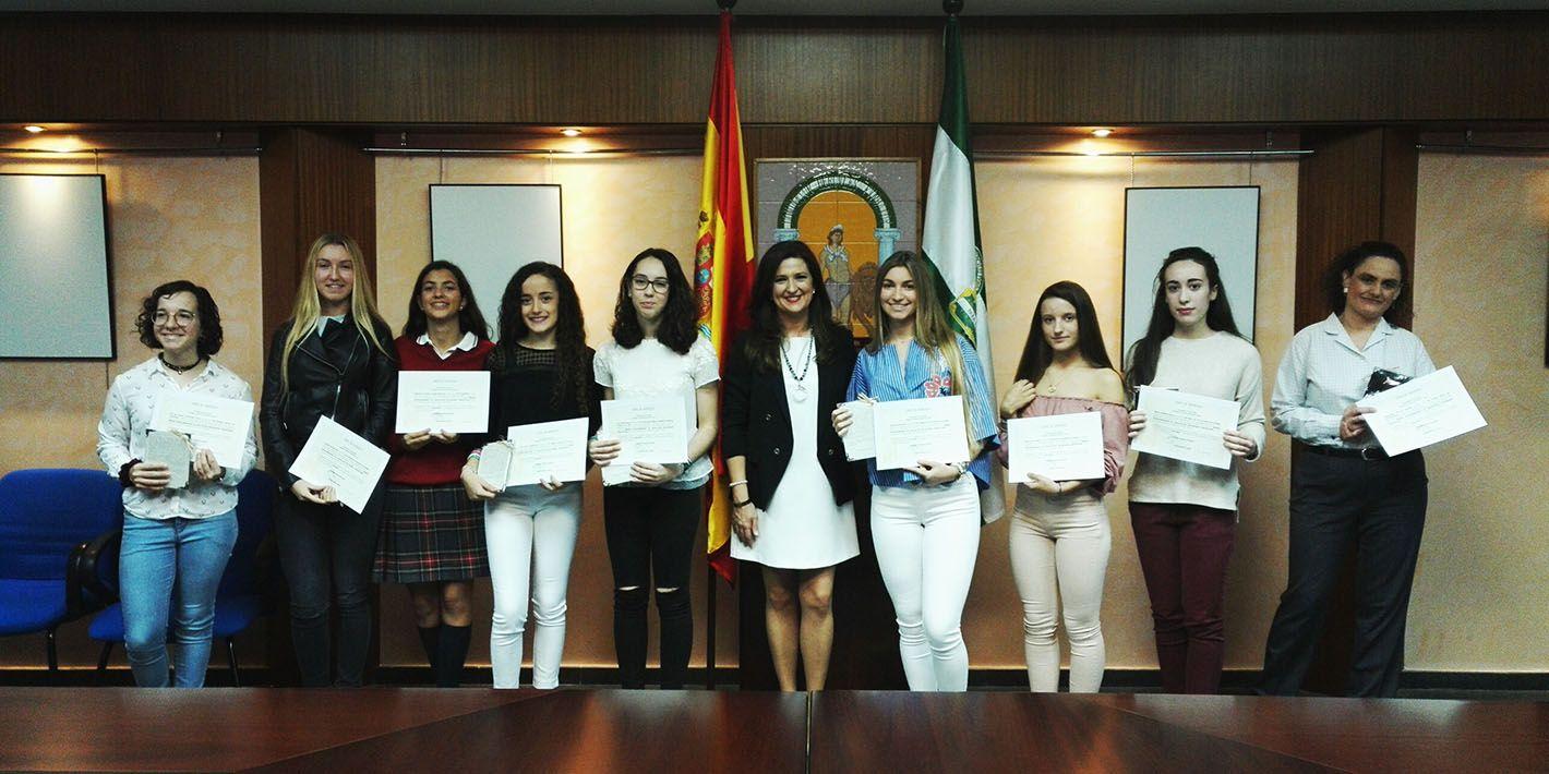 Una alumna del 'Sagrado Corazón' de Linares es reconocida por la Junta