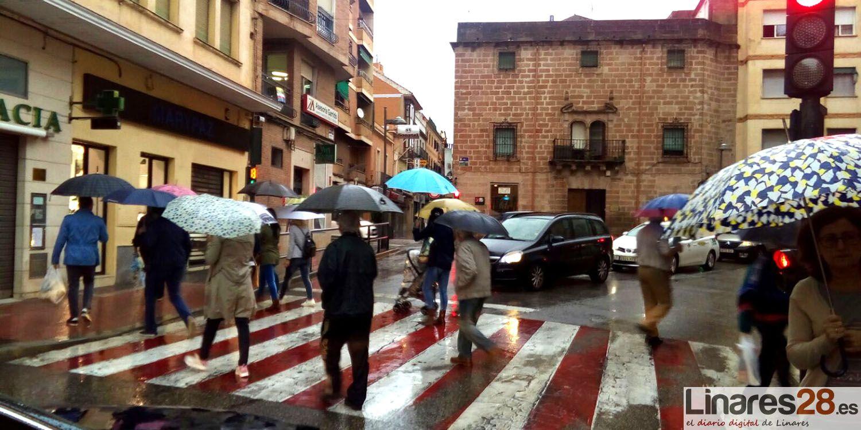 Linares pasa de la sequía a la alerta amarilla por lluvia