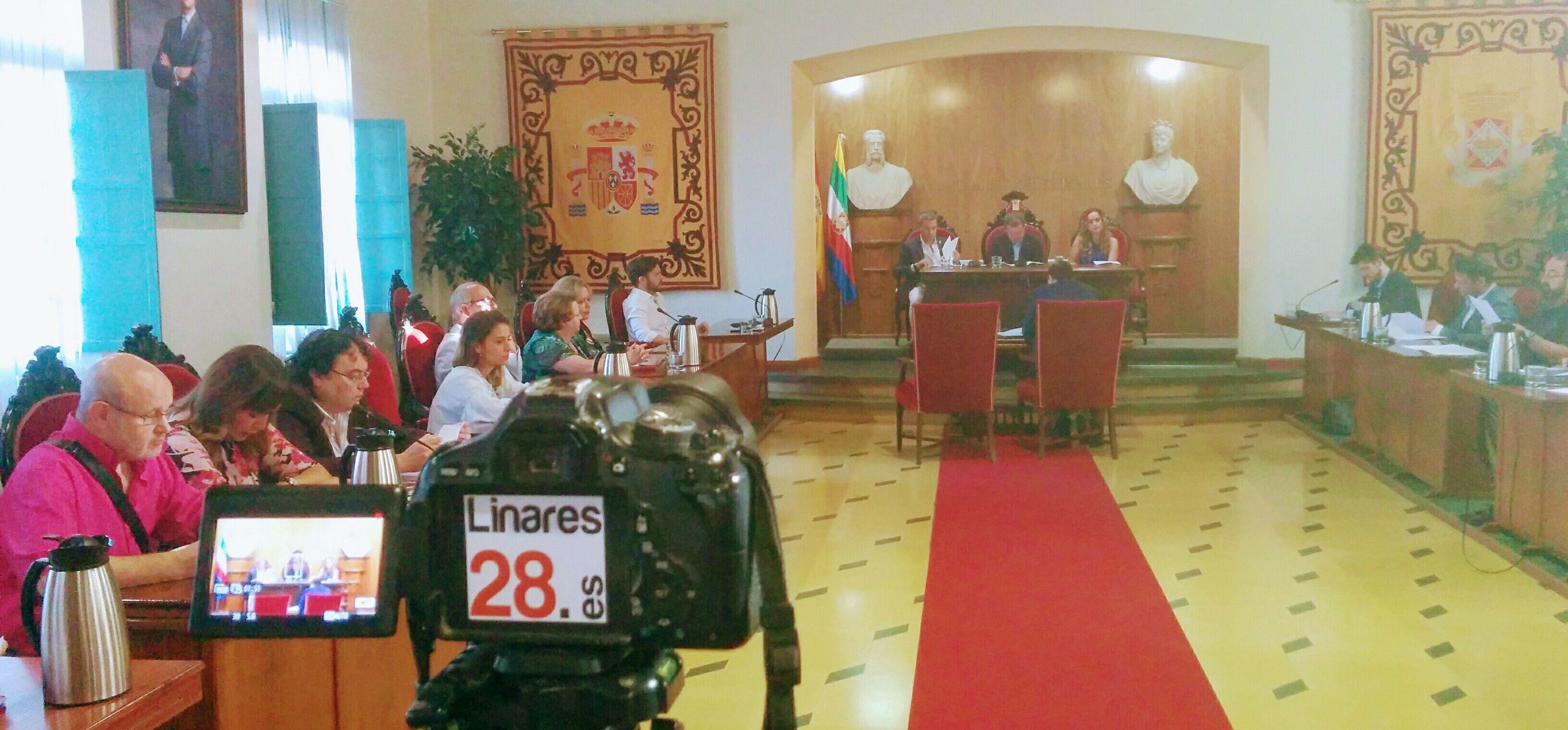 DIRECTO – Pleno Extraordinario del Ayuntamiento de Linares