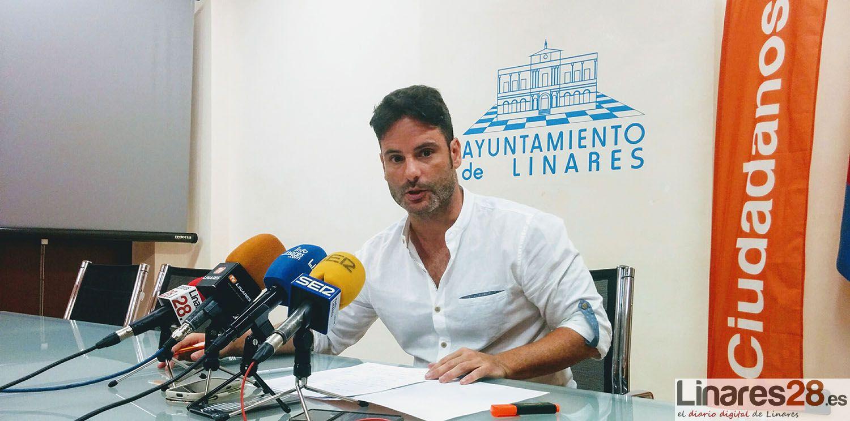 Ciudadanos plantea menos impuestos y más inversiones municipales para reactivar la economía de Linares