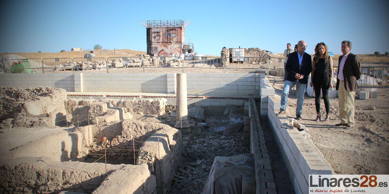 La cubierta del edificio cristiano de Cástulo y la adecuación de su entorno estarán terminadas para finales de año
