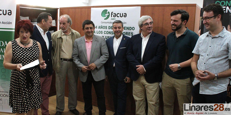 FACUA inaugura su nueva sede en Linares