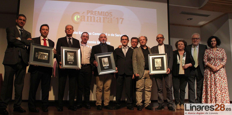 Entregados los premios de la Cámara de Comercio de Linares 2017