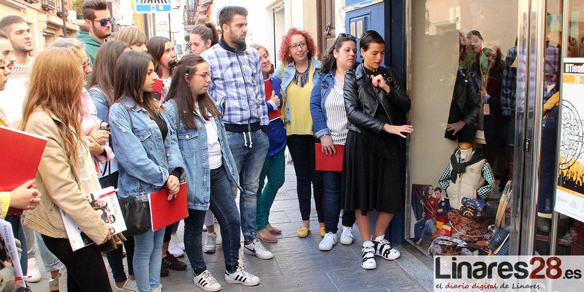 La Cámara de Comercio de Linares forma en escaparatismo