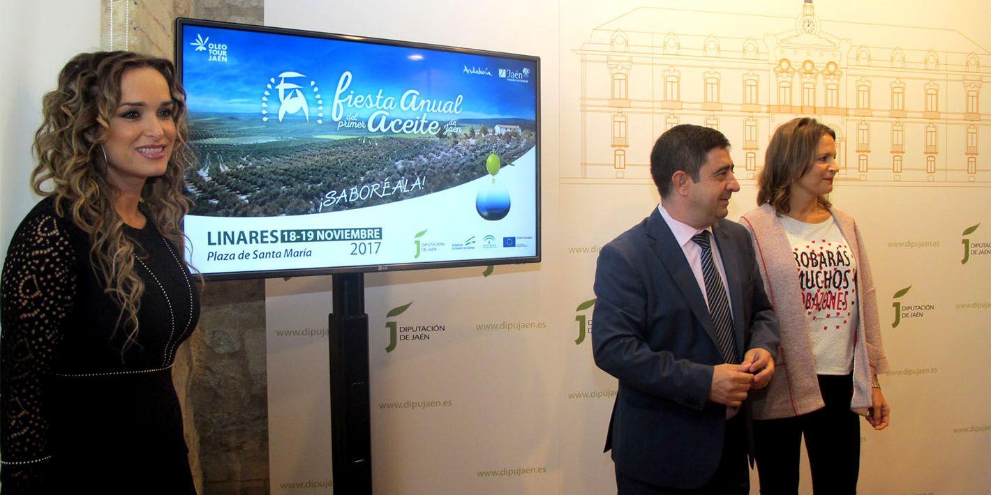 Linares acogerá la IV Fiesta del Primer Aceite de la provincia de Jaén