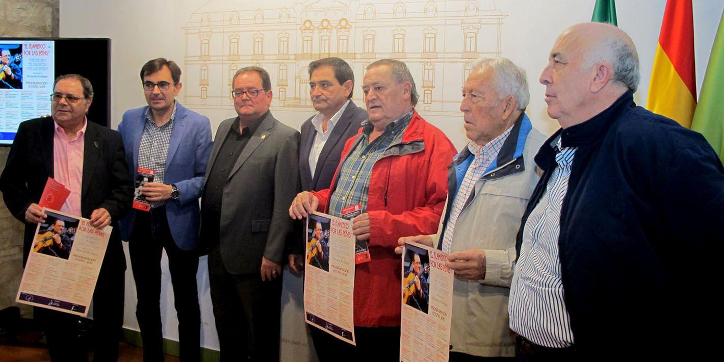 """Protagonismo linarense en el XVIII Circuito """"El flamenco por las peñas"""""""