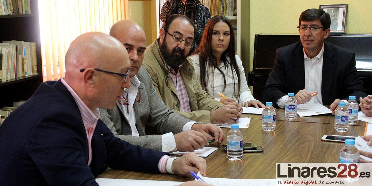 Ciudadanos se compromete a buscar soluciones a las principales demandas de la plataforma 'Todos a Una por Linares'