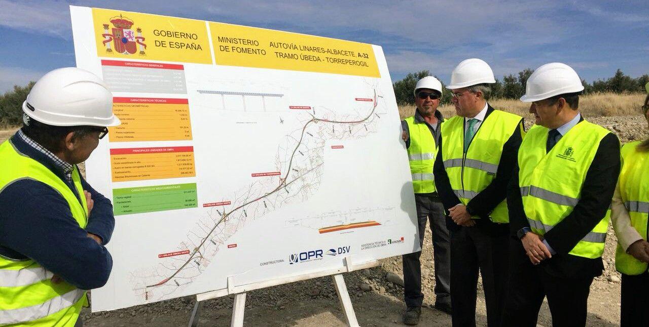 Avanzan las obras de la Autovía Linares-Albacete