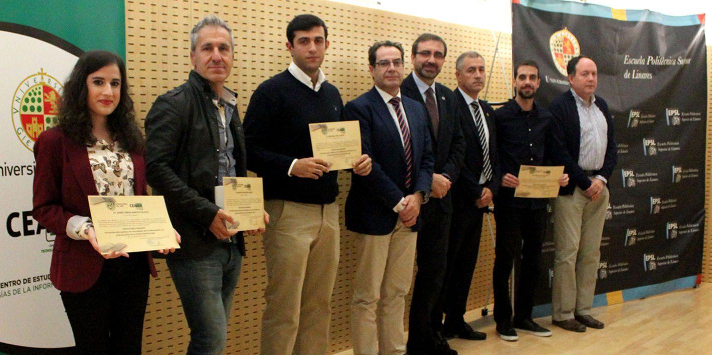 El Centro de Estudios Avanzados en TIC de la UJA entrega sus III Premios Ada Lovelace en Linares