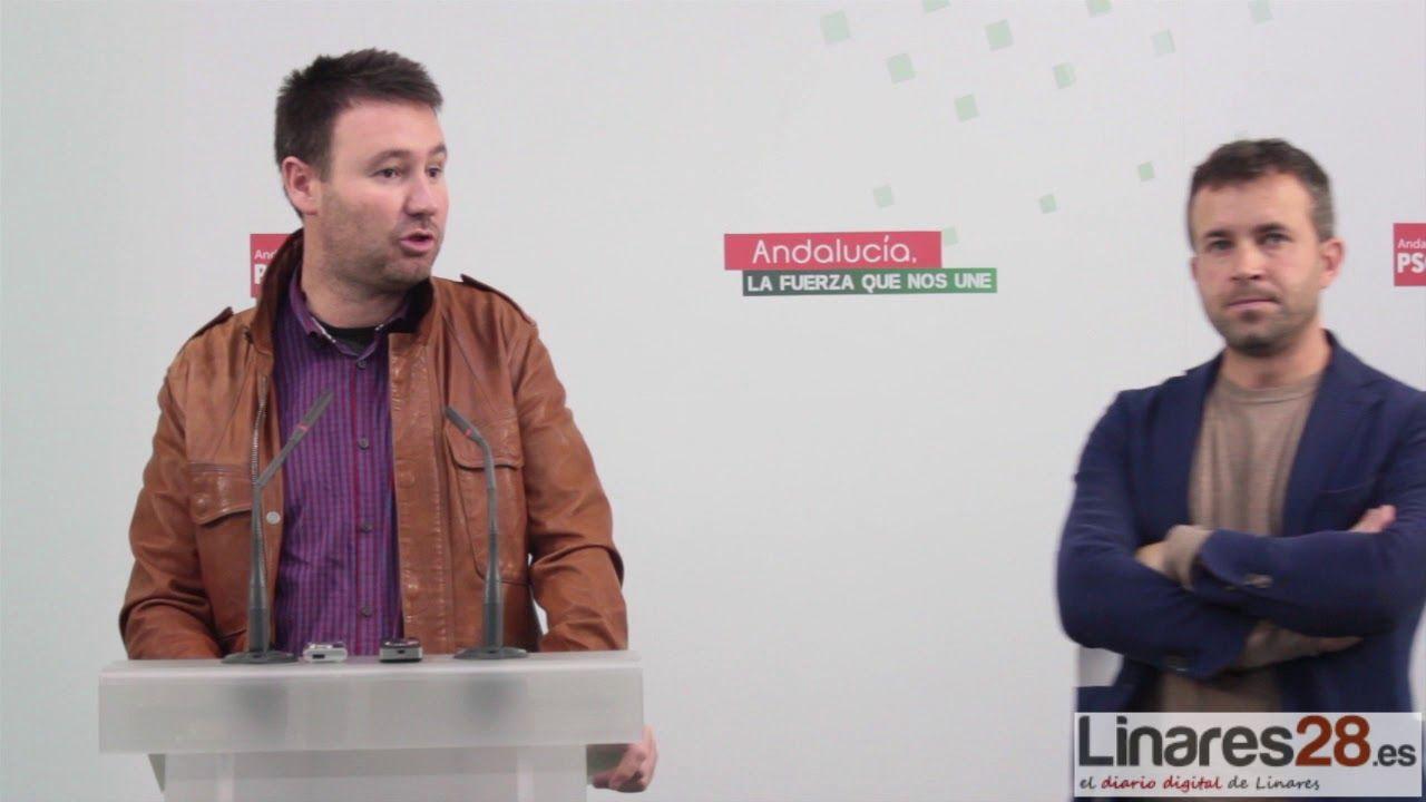 """El PSOE trabajará """"codo con codo"""" para seguir gobernando en Linares"""